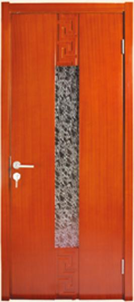 实木玻璃门A-2167