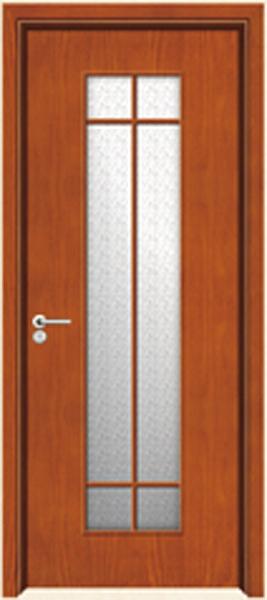 实木玻璃门A-2169